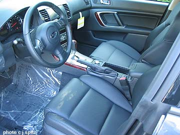 2007 Subaru Legacy Photographs Inside And Out