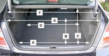 99 Toyota Camry Trunk Dimensions Autos Post