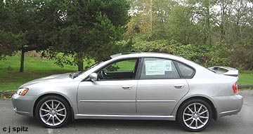 2006 Subaru Legacy GT spec B photographs