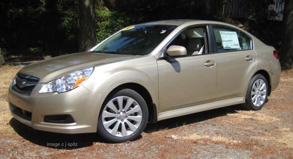 Subaru Legacy 3.6r Limited. 2010 Subaru Legacy- the color