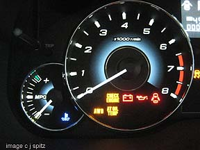 Check Engine Light On And Off >> Photos #1- 2010 Subaru Legacy Interior Photos Research Page