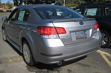 2010 Subaru Legacy Research Page