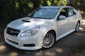2011 Subaru Legacy Exterior Photo Page 3