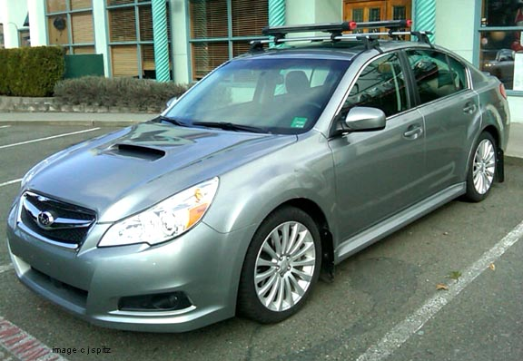 Nice 2011 Legacy GT With Aftermarket Roof Rack And Mud Flaps