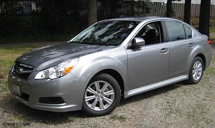 2011 Subaru Legacy Research Page