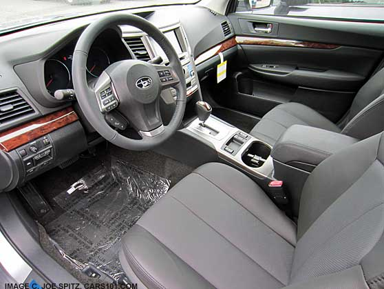 2013 Legacy Limited Sedan With Gray Interior With Off
