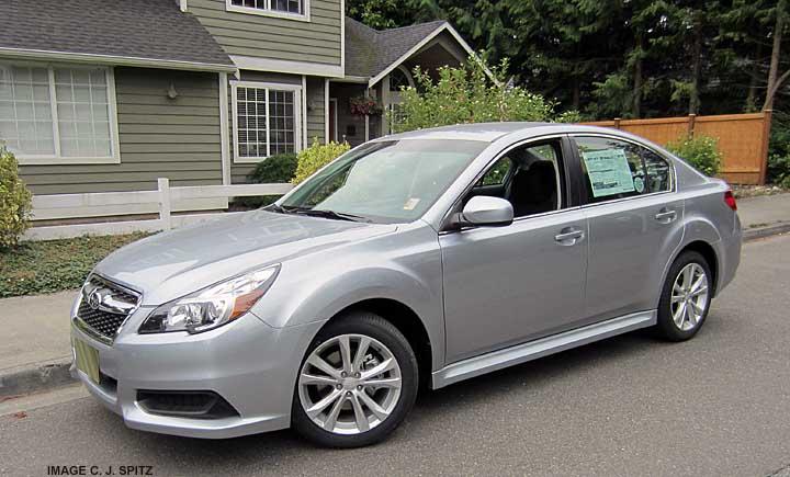 2013 Subaru Legacy Exterior Photo Page
