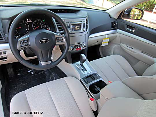2014 Subaru Legacy Interior Photograph Research Webpage