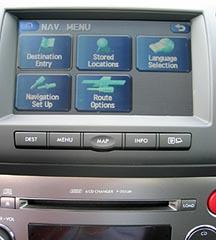 Subaru Navigation System