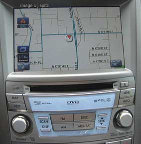 Updating subaru navigation system