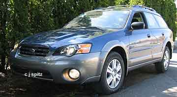2005 Subaru Outback Photographs Inside And Out Page 1