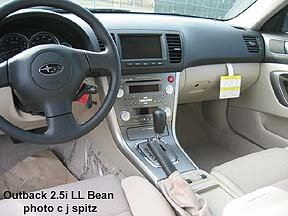 2007 Subaru Outback Photographs Inside And Out