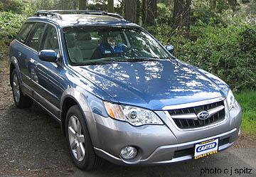 Ob Blueltd on 2005 Subaru Outback Gold