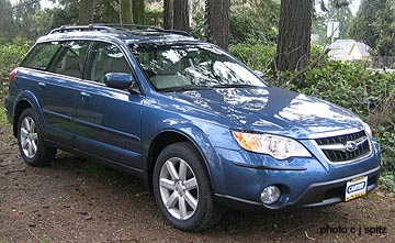 Subaru Ll Bean >> 2008 Subaru Outback photographs, inside and out