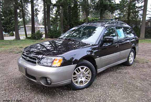 a 2002 subaru outback vdc station wagon photos and specs. Black Bedroom Furniture Sets. Home Design Ideas