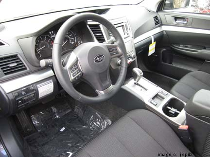 Outback 2012 Interior Photo Page
