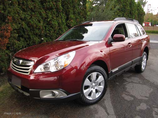 2012 Subaru Outback Research Page
