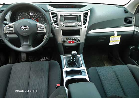 Subaru outback 6 speed manual