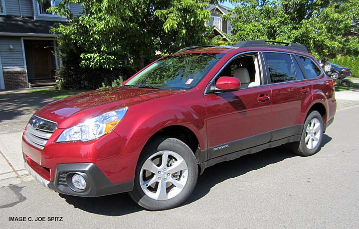 2013 Outback Limited with new for 2013 Venetian Red Pearl color