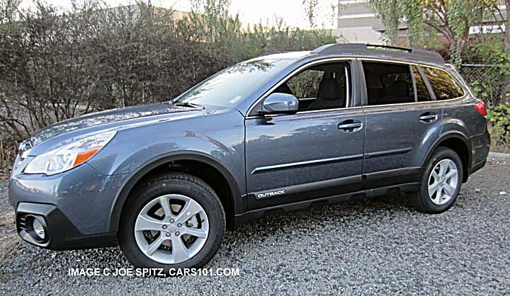 2014 Subaru Outback Options and Upgrades Photo Page