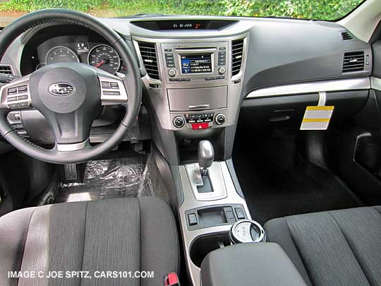 2014 Outback Interior Images