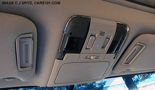 2014 Subaru Outback Overhead Console With Sunglass Garage