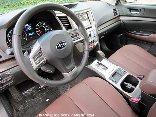 Exterior 2014 subaru outback photo page 1 exterior images for Subaru outback leather interior