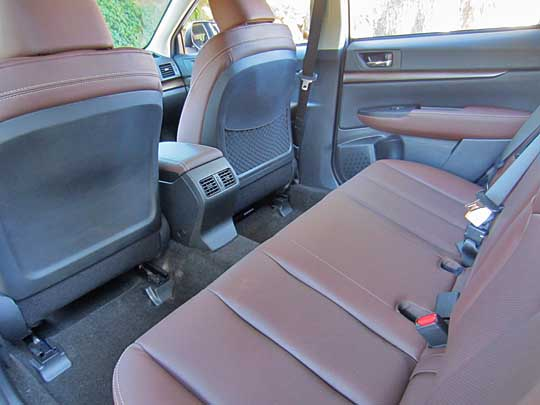 2014 outback special appearance package has saddle brown leather rear seat shown. Black Bedroom Furniture Sets. Home Design Ideas