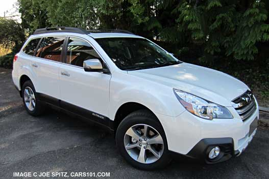subaru outback 2014 white. 2014 outback limited special appearance package white subaru