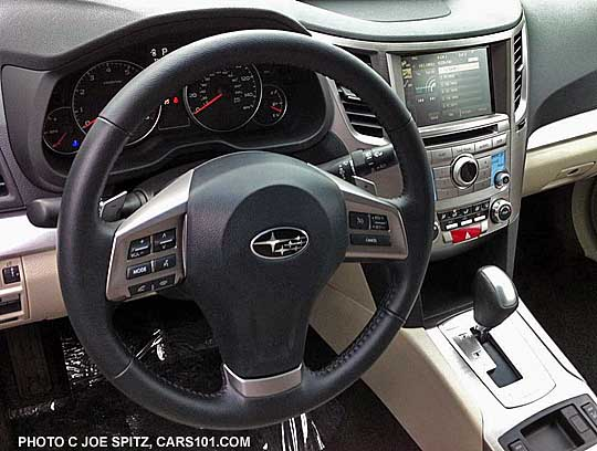 subaru outback 2014. steering wheel 2014 subaru outback premium with navigation