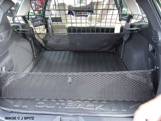 Cargo Net Installation Question Subaru Outback Subaru