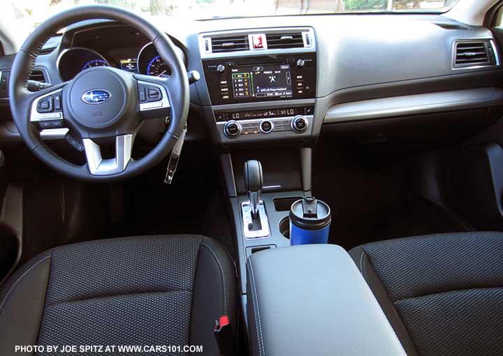 2015 Subaru Outback Black Interior