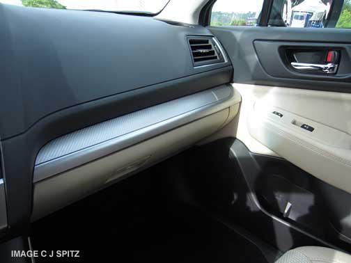 2015 subaru outback interior colors. 2015 outback 25i and premium with textured silver dash trim subaru interior colors a