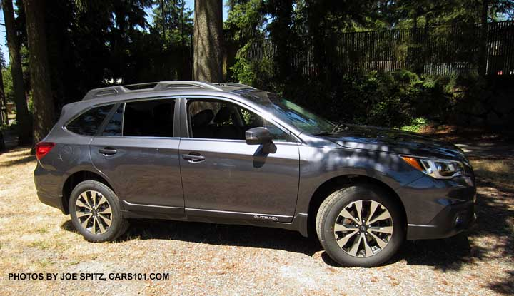 2015 Subaru Outback Carbide Gray 2015 Subaru Outback Limited
