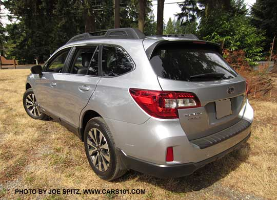 Rear View Ice Silver 2016 And 2017 Subaru Outback 2 5i Limited
