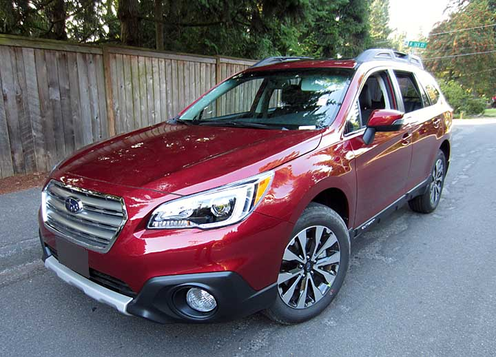 subaru outback 2016 red. 2016 2015 outback limited venetian red color shown subaru