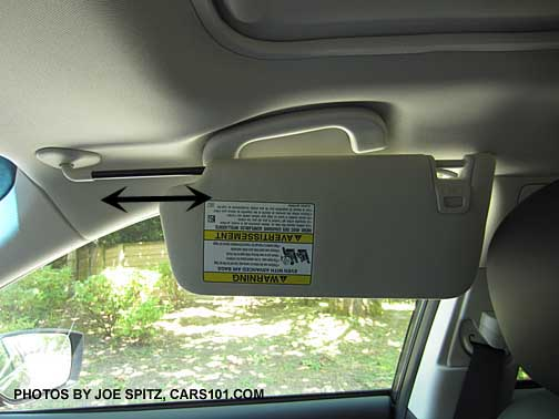 Interior Sun Visor - Extendable?? - Subaru Impreza WRX STI ...