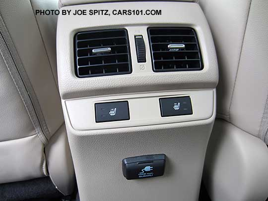 Subaru Outback Seat Covers >> 2016 Outback Options and Upgrades photographs and images