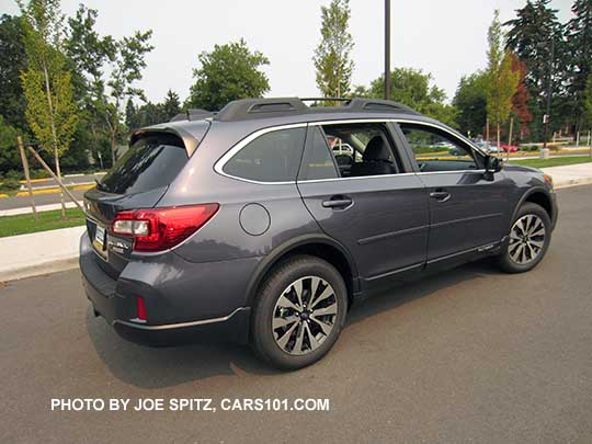 Carbide Gray Color 2016 Subaru Outback Limited