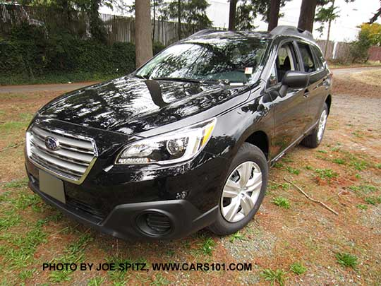 Crystal Black 2016 Subaru Outback 2 5i Base Model