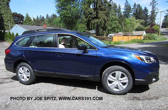 2016 Outback 2 5i Lapis Blue Color Notice The Model Has Black