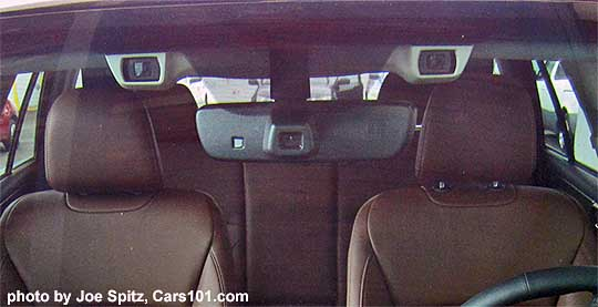 2017 Subaru Outback Eyesight With Two Forward Facing Cameras And Large Middle High Beam Ist Sensor