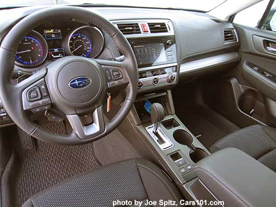 2017 Subaru Outback Premium With 7 Audio Slate Black Cloth Interior 2017 2018 Best Cars Reviews