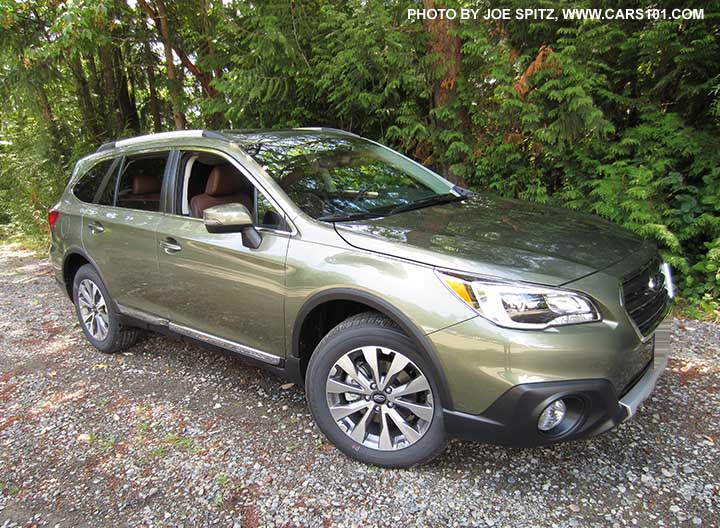 Wilderness Green Color 2017 Subaru Outback Touring With