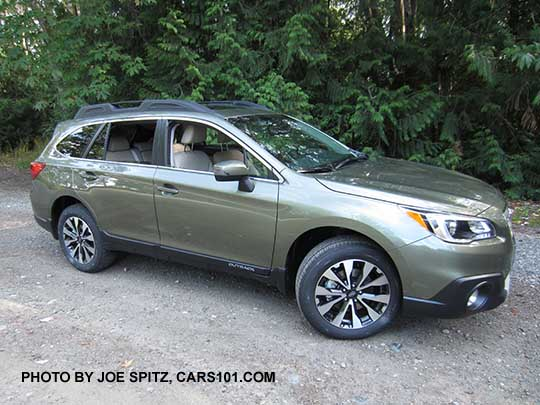 2017 Subaru Outback Wilderness Green Limited