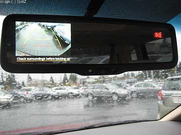 2011 Subaru Outback Mirror Back Up Camera Mid Hudson Subaru