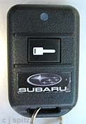 subaru keyless entry security alarm immobilizer key. Black Bedroom Furniture Sets. Home Design Ideas