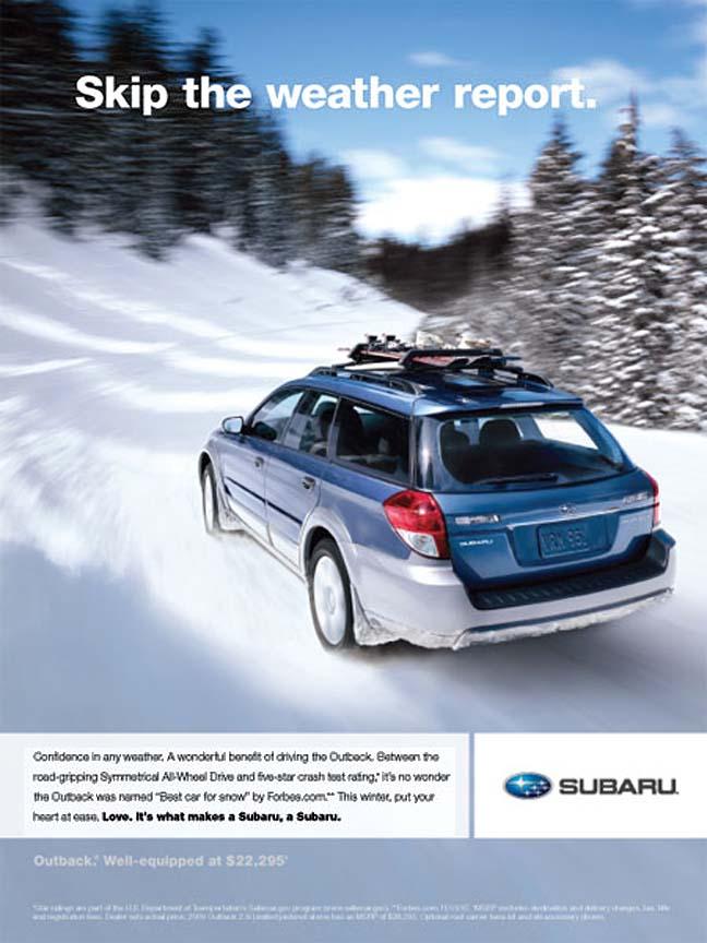 subaru advertising photographs  page  2