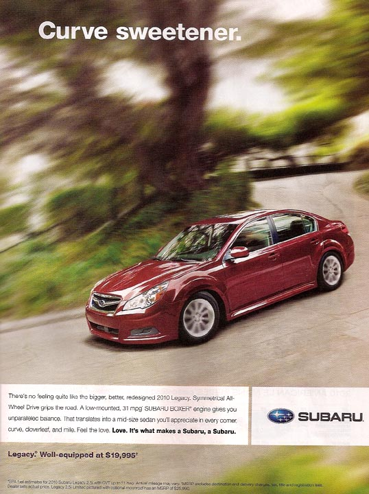 Subaru Advertising Photographs Page 2