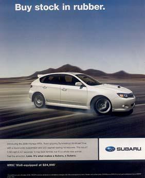 Subaru Advertising Over The Years